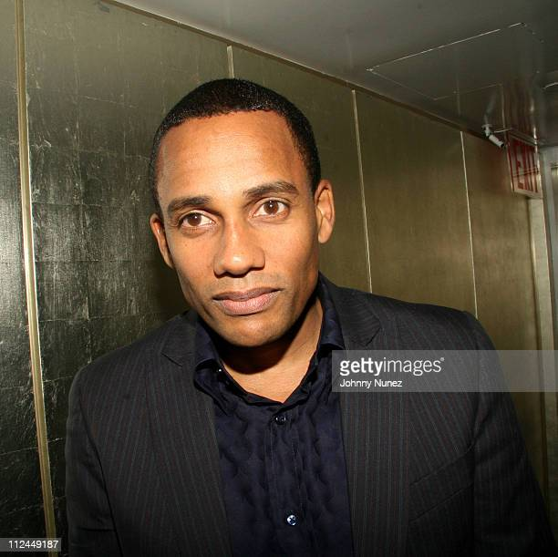 Hill Harper during Hill Harper Letter's to a Young Brother Educational Tour Launch Hosted by Abercrombie and Fitch at TBD in New York City New York...