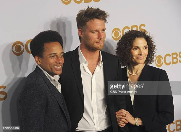 Hill Harper Jake McDorman and Mary Elizabeth Mastrantonio walk the carpet at Lincoln Center after CBS presented its 201516 prime time schedule on May...