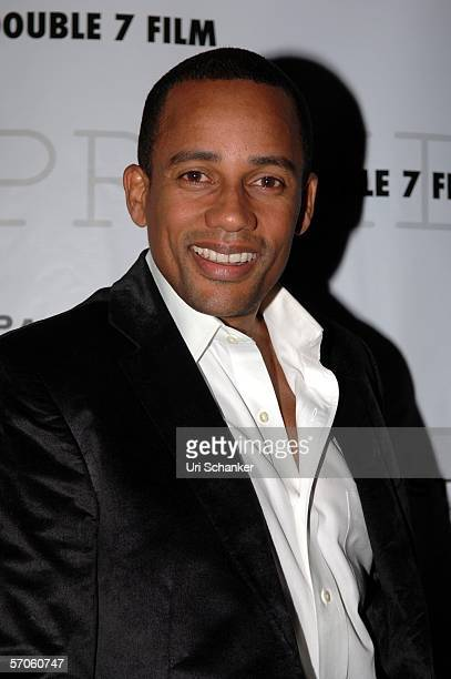 Hill Harper poses at the party for the film 'Premium' at the Shore Club on March 11 2006 in Miami Beach Florida