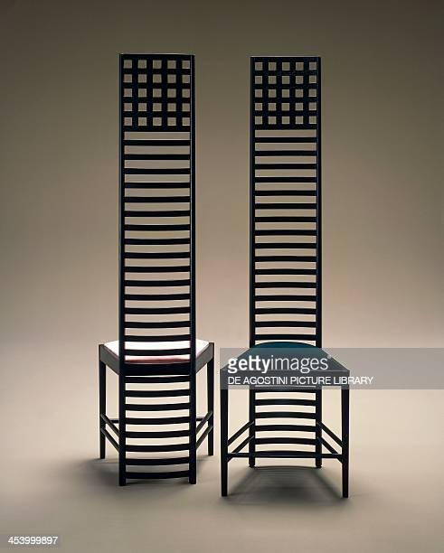 Hill House chairs 19031905 by Charles Rennie Mackintosh United Kingdom 20th century