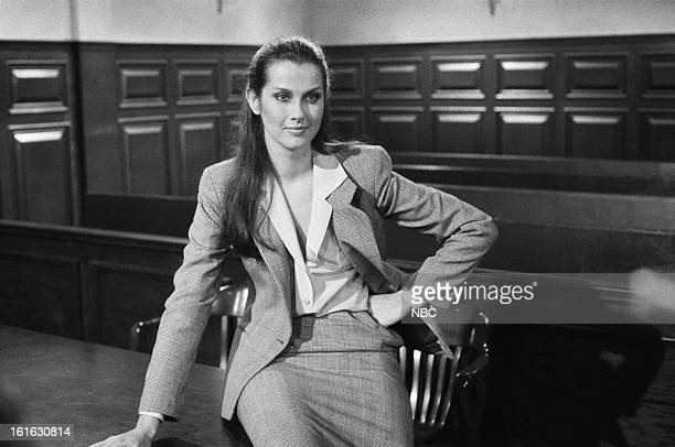 BLUES 'A Hill of Beans' Episode 322 Pictured Veronica Hamel as Joyce Davenport