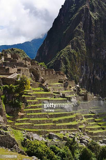 Hill Terraces of Machu Picchu