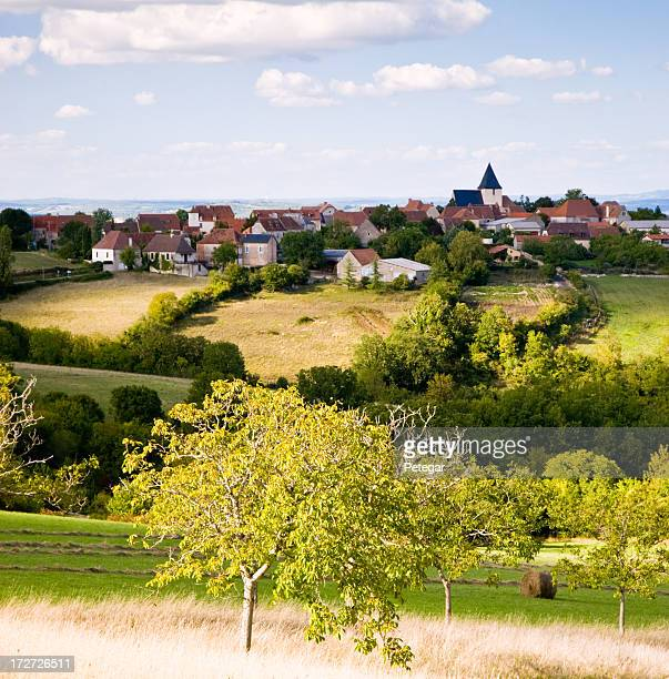 HIll Top Village in the Dordogne, France