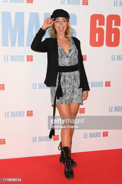 Hillary attends the Le Mans 66 Premiere At Cinema Gaumont Champs Elysees on October 06 2019 in Paris France