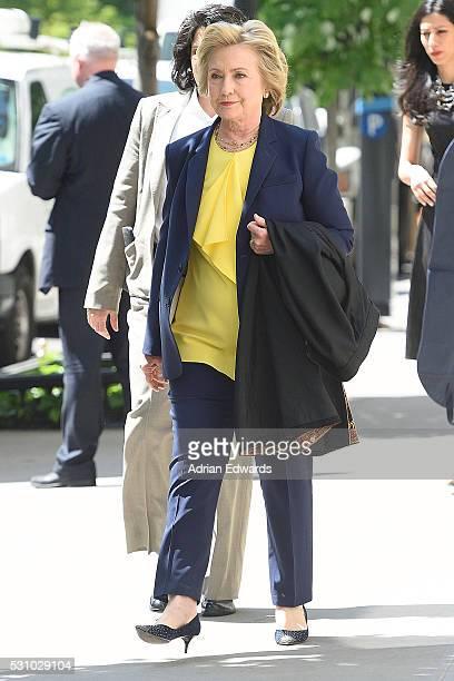 Hillary Clinton and Huma Abedin shopping on May 12 2016 in New York City