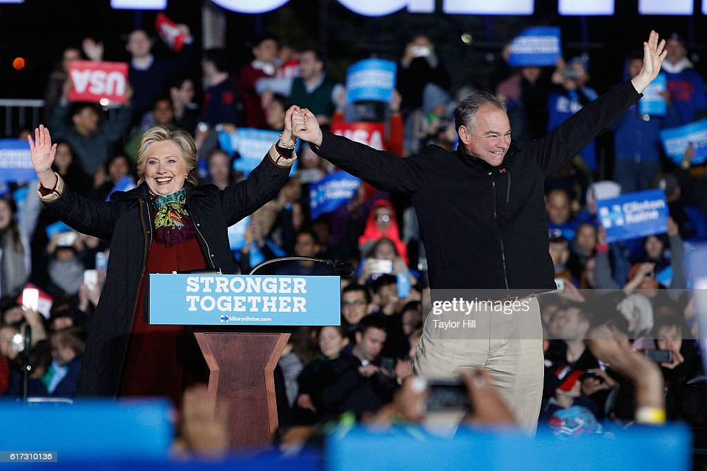 Presidential Candidate Hillary Clinton Campaigns In Philadelphia