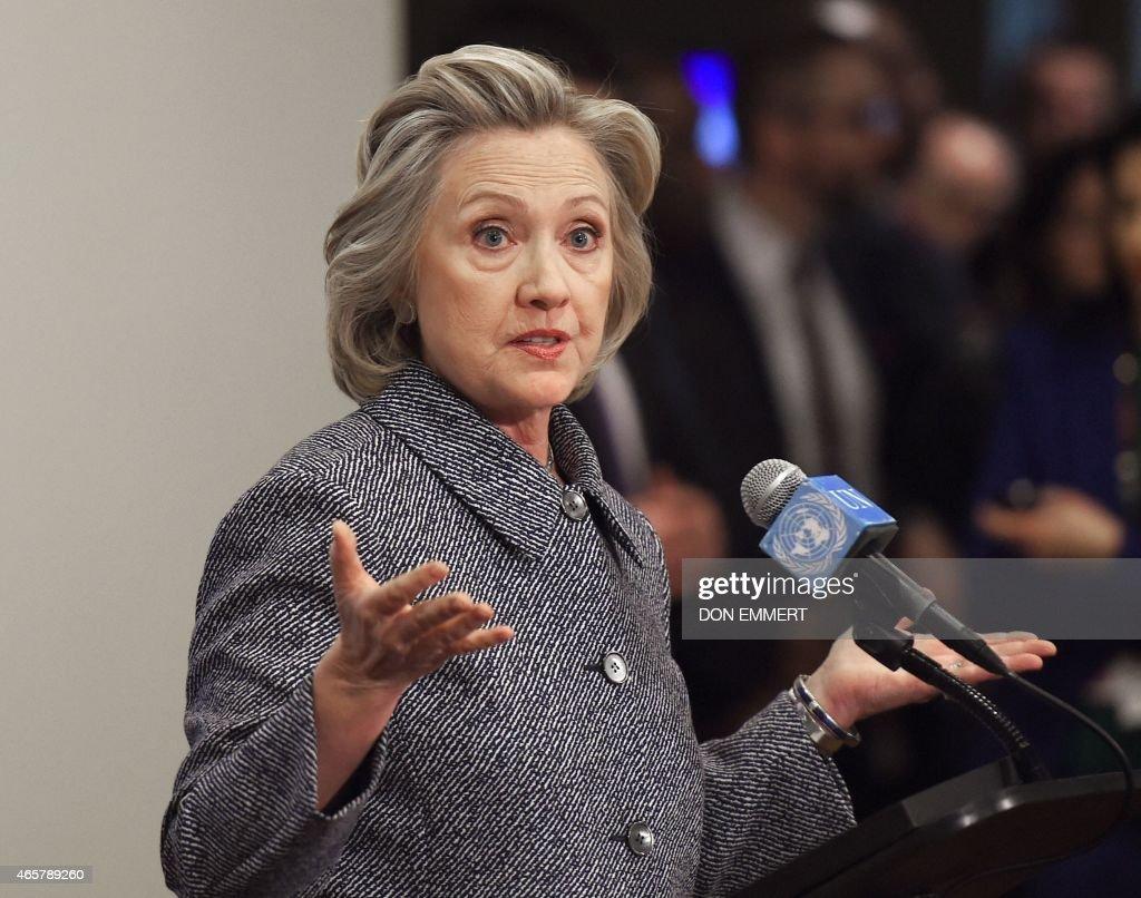 US-POLITICS-VOTE-CLINTON-EMAILS : News Photo