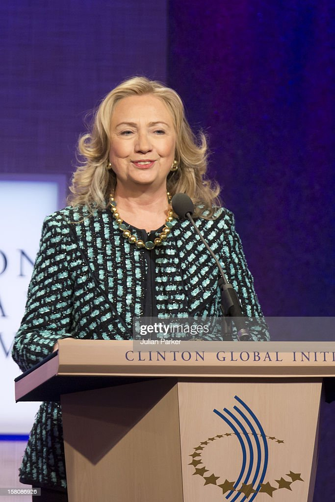 Hillary Clinton At The Clinton Global Initiative, At The Sheraton Hotel And Towers In New York, Usa. .