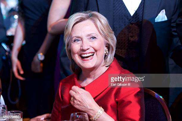 Hillary Clinton attends the Phoenix Awards Dinner at the 45th Annual Legislative Black Caucus Foundation Conference at Walter E Washington Convention...