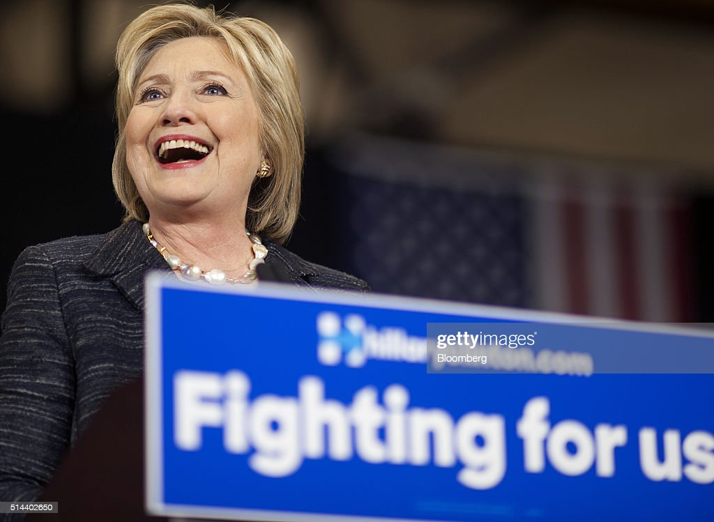 Presidential Candidate Hillary Clinton Holds Ohio Campaign Rally : News Photo