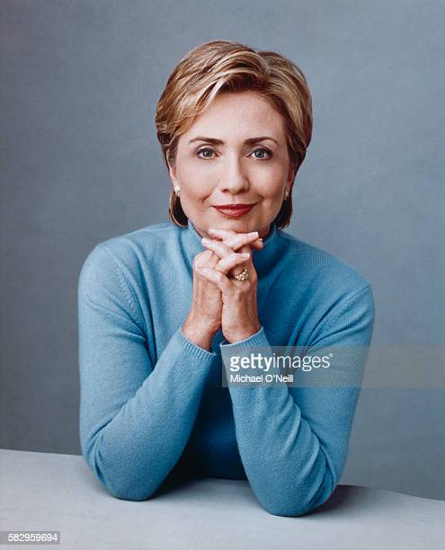 Hillary Clinton is photographed for Self Magazine on September 7 1999