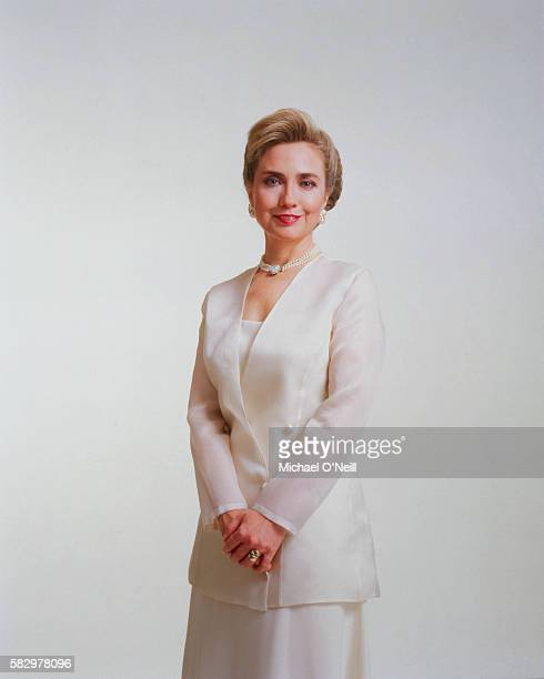 Hillary Clinton is photographed for the New York Times Magazine on May 23 1993