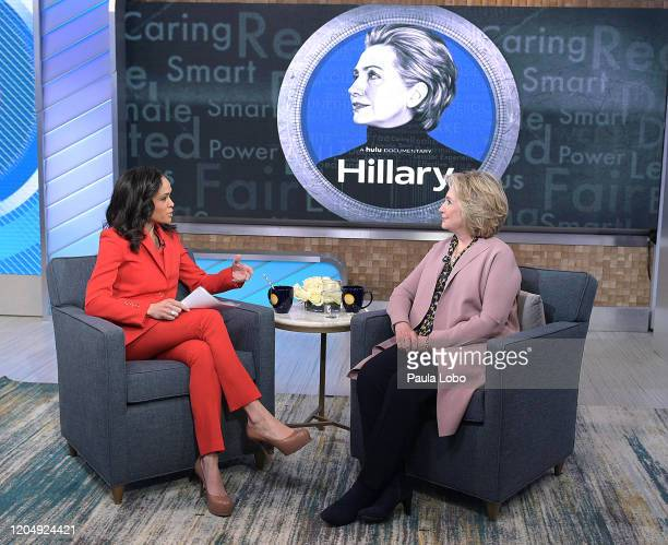 AMERICA Hillary Clinton is the guest today Tuesday March 3 2020 on ABC's Good Morning America Good Morning America airs MF on ABC GM20 LINSEY