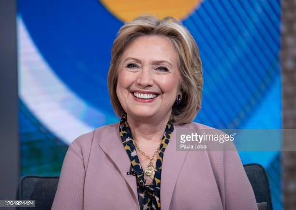 """Hillary Clinton is the guest today, Tuesday, March 3, 2020 on ABC's """"Good Morning America."""" """"Good Morning America"""" airs M-F on ABC. GM20 HILLARY..."""