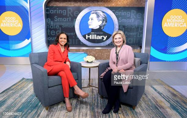 """Hillary Clinton is the guest today, Tuesday, March 3, 2020 on ABC's """"Good Morning America."""" """"Good Morning America"""" airs M-F on ABC. GM20 LINSEY..."""