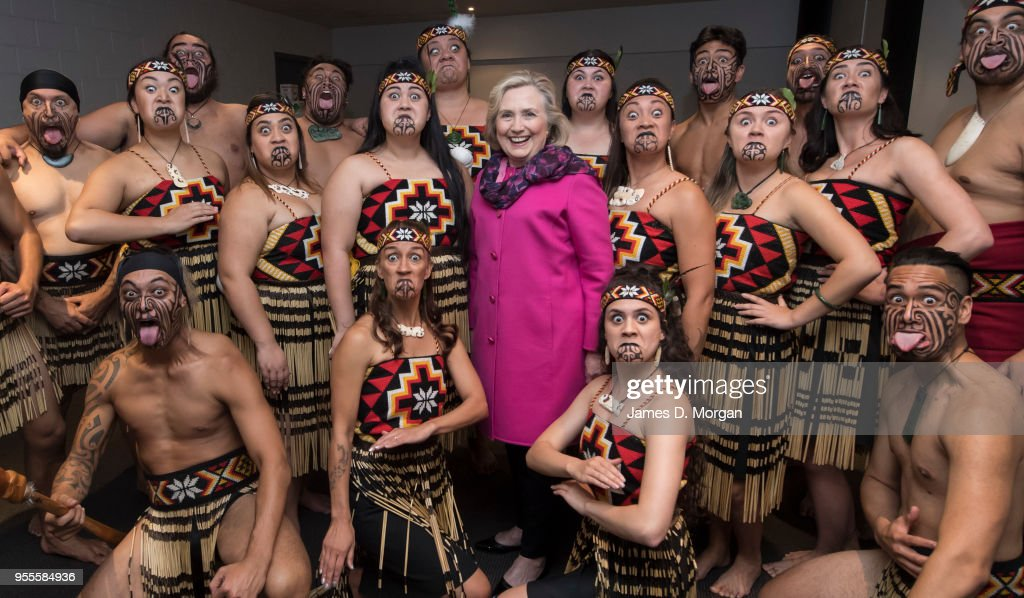 An Evening With Hillary Rodham Clinton - Auckland : News Photo