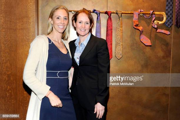 Hillary Collins and Andrea London attend PAUL STUART and WALL STREET JOURNAL host FASHION'S NIGHT OUT at 45th st and Madison Ave on September 10 2009...
