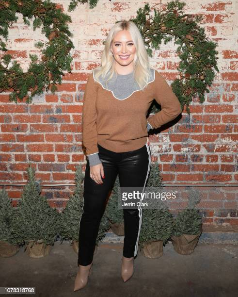 Hillary Duff attends the 1st Annual Cocktails For A Cause With Love Leo Rescue at Rolling