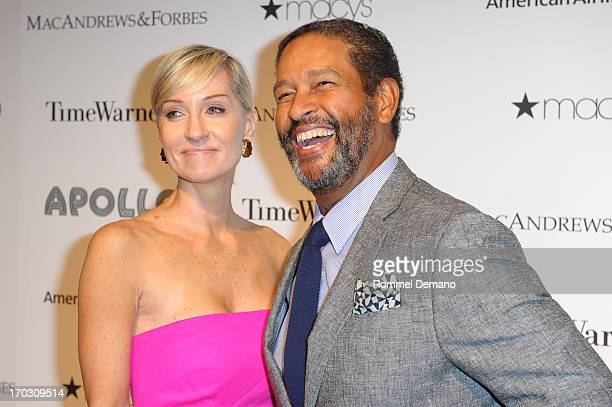 Hillary Gumbel and Bryant Gumbel attend The Apollo Theater's 8th Annual Spring Gala Concert Honoring Chaka Khan at The Apollo Theater on June 10 2013...