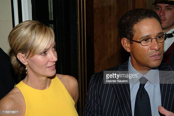Hillary Gumbel and Bryant Gumbel during Donald Trump Hosts the Opening Night Reception of Veranda New York's Best at Trump Park Avenue The Ultimate...