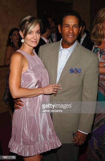 "Hillary Gumbel and TV personality Bryant Gumbel arrives during ""Une Journe A Paris"" hosted by Van Cleef & Arpels at Hammerstein Ballroom on September..."