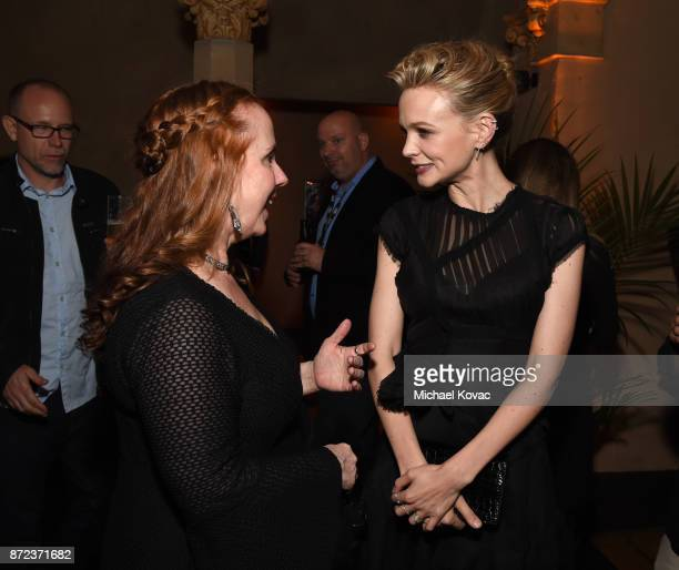 Hillary Jordan and Carey Mulligan attend the screening of Netflix's 'Mudbound' at the Opening Night Gala of AFI FEST 2017 Presented By Audi at...