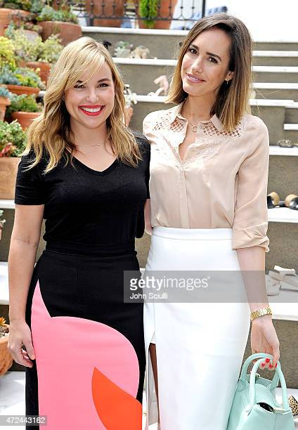Hillary Kerr and Louise Roe attend RAYE shoe launch event hosted by Chrissy Teigen and Hillary Kerr held At Ysabel on May 7 2015 in West Hollywood...