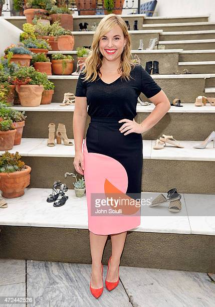 Hillary Kerr attends RAYE shoe launch event hosted by Chrissy Teigen and Hillary Kerr held At Ysabel on May 7 2015 in West Hollywood California