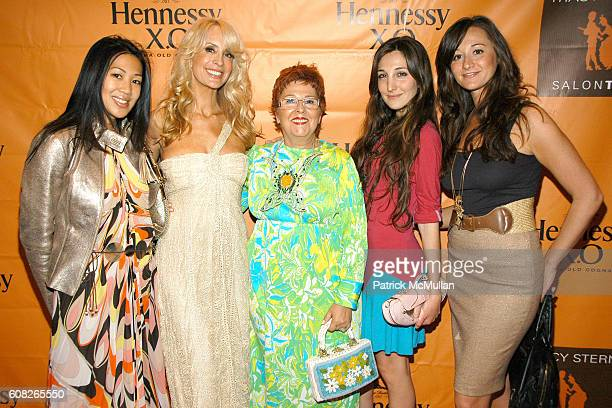 Hillary Latos Tracy Stern Linda Gilbert Nicole Romano and Alexandra Osipow attend HENNESSY COGNAC Presents TRACY STERN's Book Launch TEA PARTY at...