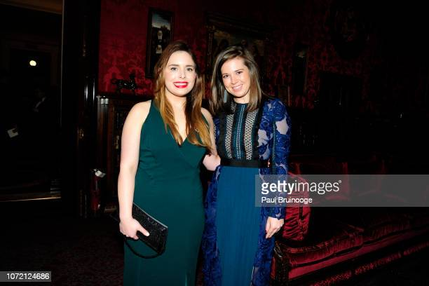 Hillary Mazanec and Helen Cousar attend Mr Morgan's Winter Gala at The Morgan Library Museum on December 11 2018 in New York City