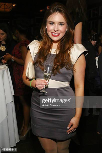 Hillary Mazanec attends Swing Into Spring event on April 9 2014 in New York United States