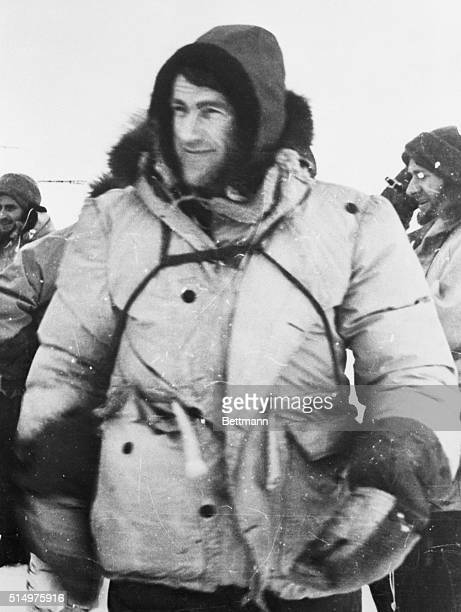 Hillary Reaches South Pole Antarctica Sir Edmund Hillary conqueror of Mount Everest radioed Jan 3rd that he has reached the South Pole He is the...