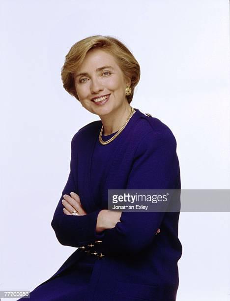 Hillary Rodham Clinton 09/00/1993 Various Jonathan Exley Celebrity Archives