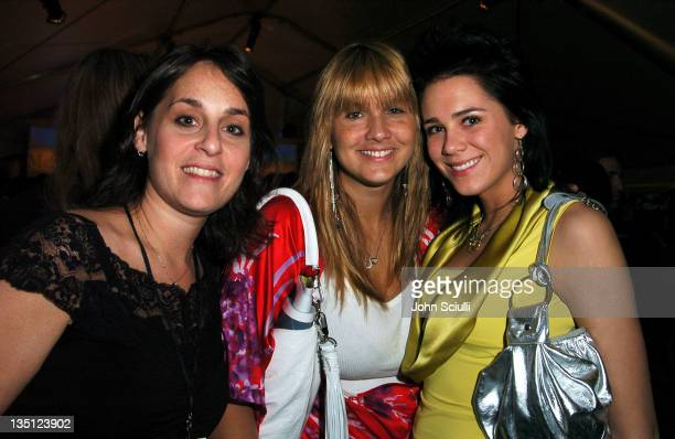 Hillary Rosen Karrie Johson and Tarah Smith of Smack Handbags