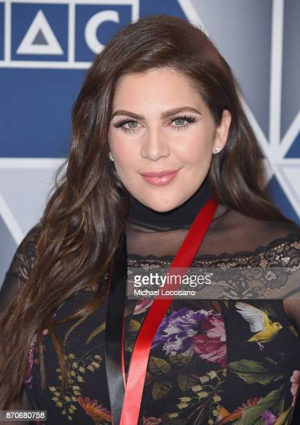 Hillary Scott of Lady Antebellum arrives at the 2017 SESAC Nashville Music Awards on November 5 2017 in Nashville Tennessee