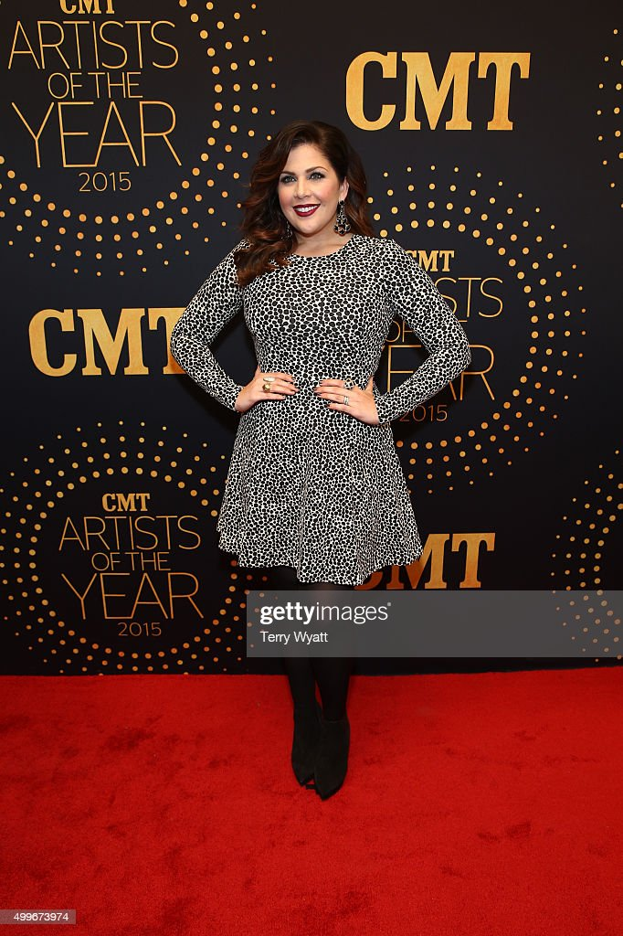 Hillary Scott of Lady Antebellum attends the 2015 'CMT Artists of the Year' at Schermerhorn Symphony Center on December 2, 2015 in Nashville, Tennessee.