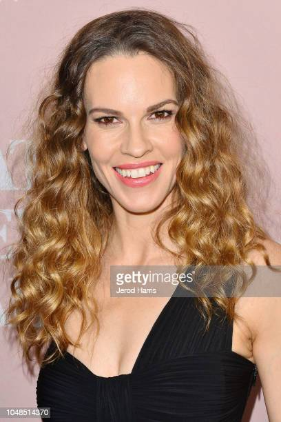 Hillary Swank attends Bleeker Street Presents Los Angeles Special Screening Of 'What They Had' at iPic Westwood on October 9 2018 in Westwood...
