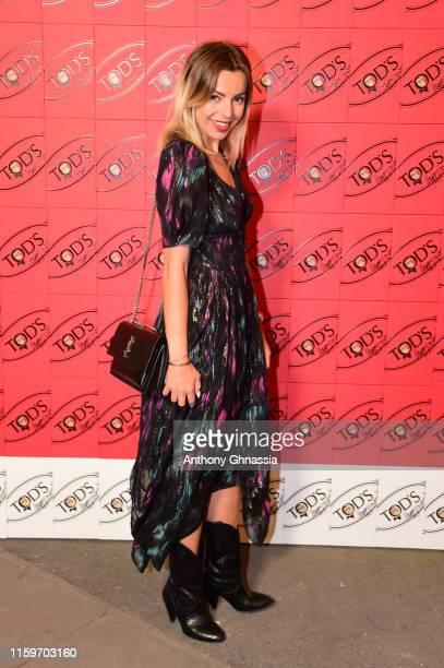 Hillary Vanderosieren attends Tod's X Alber Elbaz Happy Moments at Yoyo Palais De Tokyo on July 02, 2019 in Paris, France.