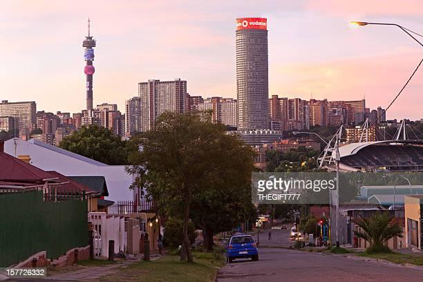 Hillbrow sunset, Johannesburg