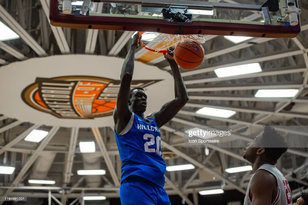 Hillcrest Prep's 6-11 center, Makur Maker could be a potential second round pick in the 2020 NBA Draft. (Photo: John Jones/Icon Sportswire via Getty Images)