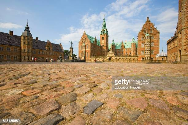 Hillerod, Denmark. Frederiksborg Castle.