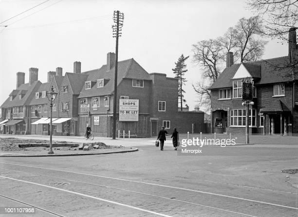 Hillingdon village Vine Street 3rd May 1935