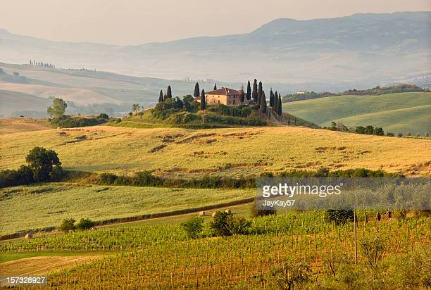 Hills and landscape of Tuscany