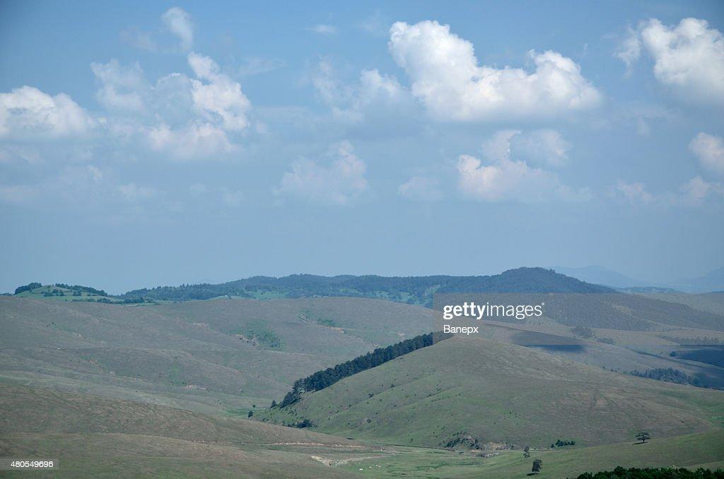 Hills e Montanhas : Foto de stock