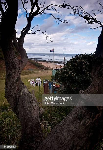 Hills hoist at little Garie Beach