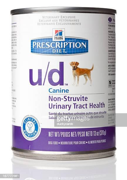 Hill receita de dieta para cães u/d fórmula