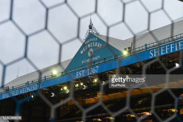 Hillsborourgh clock during the Sky Bet Championship match between Sheffield Wednesday and Derby County at Hillsborough, Sheffield on Friday 1st...
