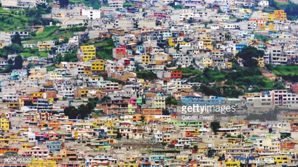 A Hillside Cityscape of Quito