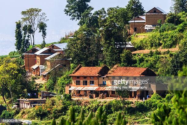 Hillside Village, Kathmandu Valley, Nepal