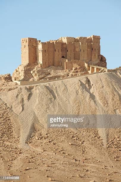 Hilltop castle in Palmyra Syria
